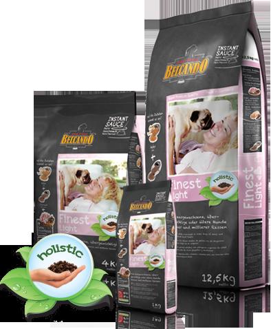 Низкокаллорийный корм Belcando Finest Light для собак мелких и средних пород (Утка) - 1 кг