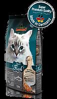 Корм Bewital Leonardo Sensitive для взрослых кошек с чувствительным пищеварением (Рыба, рис) - 2 кг