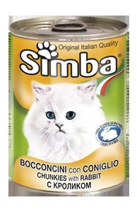 Консервы Monge Simba для кошек (Кролик) - 415 г
