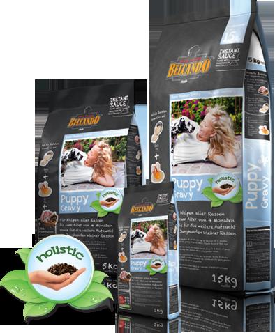 Корм Холистик Bewital Belcando Puppy для щенков (Птица и рис) - 1 кг