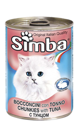 Консервы Monge Simba для кошек (Тунец) - 415 г