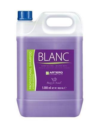 Шампунь восстанавливающий витаминизированный Artero Shampoo Blanc для собак и кошек - 5 л