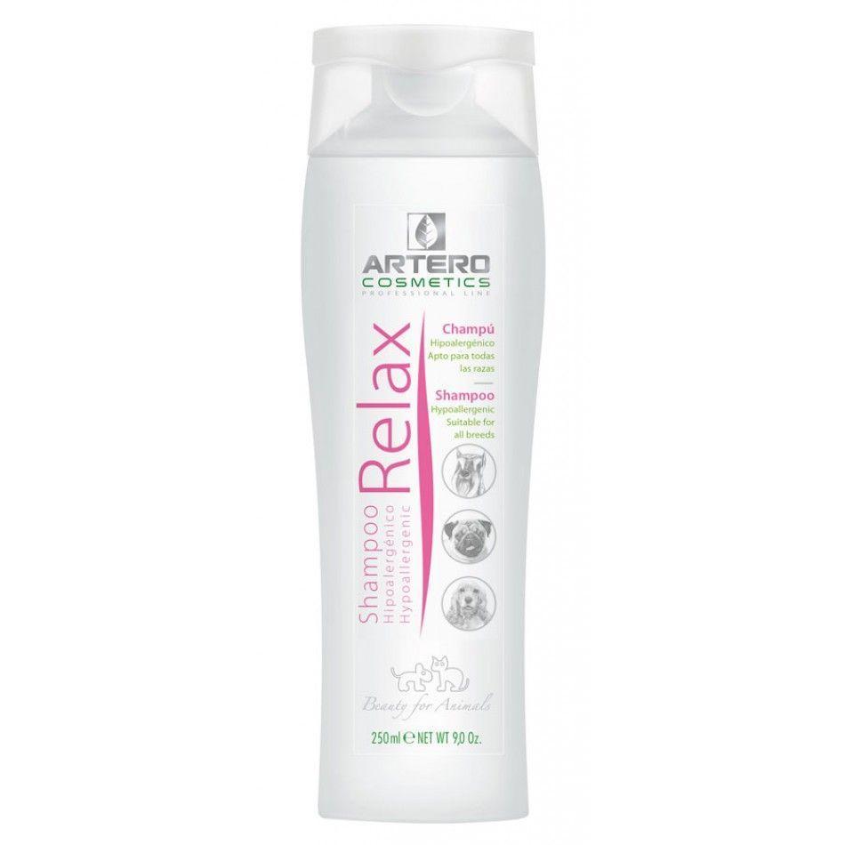 Гипоаллергенный шампунь Artero Relax Shampoo для чувствительной кожи собак и кошек - 250 мл
