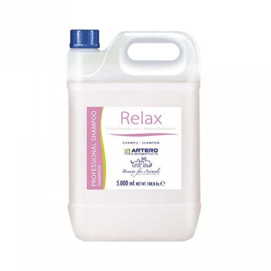 Гипоаллергенный шампунь Artero Relax Shampoo для чувствительной кожи собак и кошек - 5 л