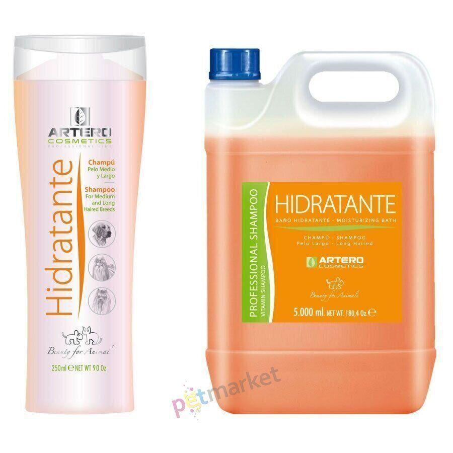 Увлажняющий шампунь Artero Hidratante Moisture Bath для длинношерстных животных - 250 мл