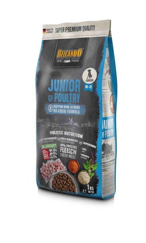 Беззерновой корм Belcando Junior GF для щенков (Курица) - 4 кг