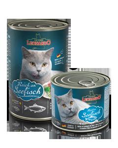 Консервы Bewital Leonardo Ocean Fish для взрослых кошек (Океаническая рыба) - 200 г