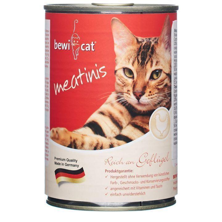 Консервы Bewital Leonardo для взрослых кошек (Кролик) - 400 г