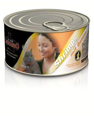 Консервы Leonardo Shrimps для кошек (Креветки) - 100 г
