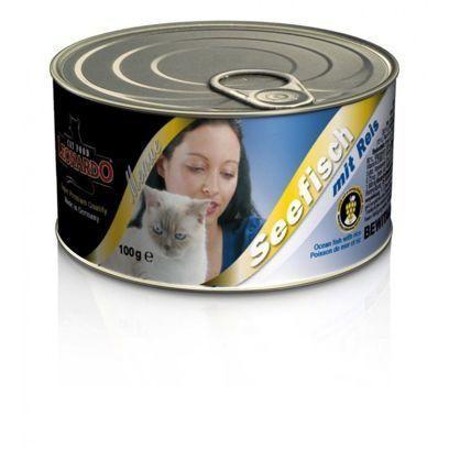 Консервы Leonardo Ocean Fish для кошек (Рыба) - 100 г