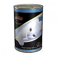 Консервы Leonardo Meat Menue with Fish для кошек (Мясо с рыбой) - 400 г