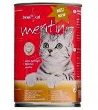 Консервы Bewi Cat Meatinis Poultry для кошек (Курица) - 400 г
