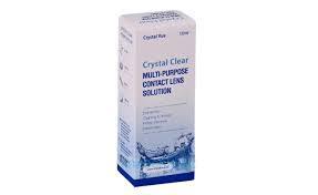 Раствор для линз CRYSTAL CLEAR, 360 ml