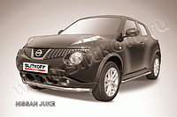 Защита переднего бампера d57 Nissan Juke