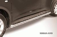 Защита порогов d57 труба Nissan Juke