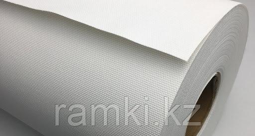Матовый 1,07х18м (300гр/м2). Рулонный широкоформатный холст для струиной печати для широкоформатных принтеров, плоттеров