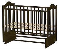 Кроватка детская Ведрусс Иришка-7 темный орех