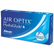 Линзы Air Optix Hidra Glyde 6шт (3 пары)