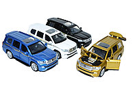 3226B Land Cruiser 200 металл,двери,капот багажник открываются 4 вида из 12шт, 15*17см, фото 1