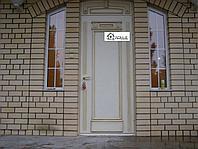 Двери на заказ в Алматы железные с отделкой МДФ