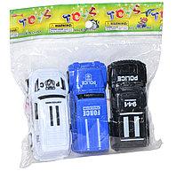 XT1800-3B Хаммер 3шт полицейские в пакете 11*12см, фото 1