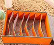 Органайзер для нижнего белья с крышкой 7 отделений оранжевый. Черная пятница!, фото 2