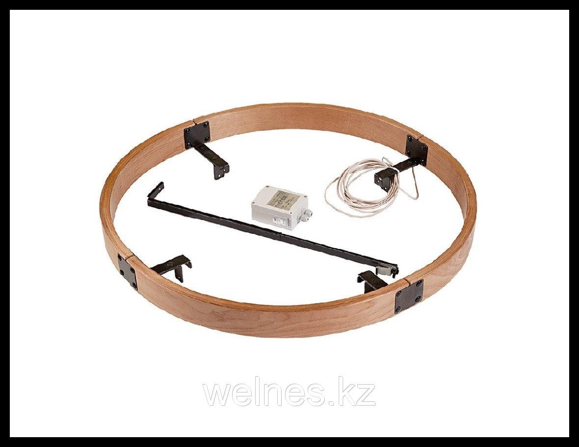 Деревянное ограждение с LED подсветкой SASPO 240L для печи Harvia Legend PO165