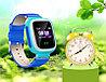 Детские смарт-часы Q80 1.44, цвет голубой + синий, фото 5