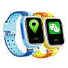 Детские смарт-часы Q80 1.44, цвет голубой + синий, фото 4