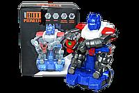 ZR141 Робот Оптимус (движение,музыка,свет) BOT PIONER 20*16см