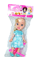 9320-3 Кукла Холодное сердце (30см) с мед набором качество 36*18см