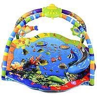 Развивающий коврик La-Di-Da Подводный мир со светом и музыкой PM-T-1-80701