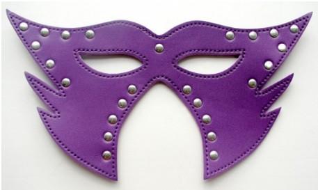 МАСКА НА ГЛАЗА цвет фиолетовый (PVC)