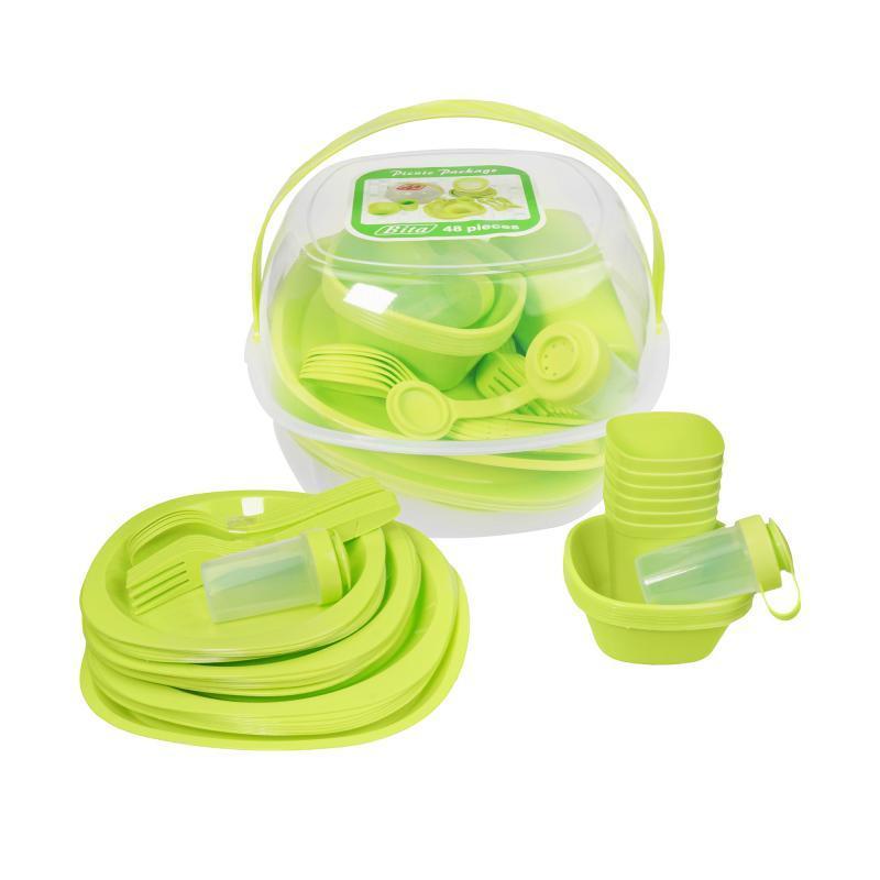 Пластиковая посуда для отдыха Сезонная распродажа летних товаров
