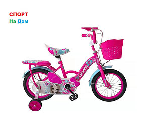 """Детский велосипед Phillips для девочек """"Принцесса"""" рама 12 (цвет -розовый)"""