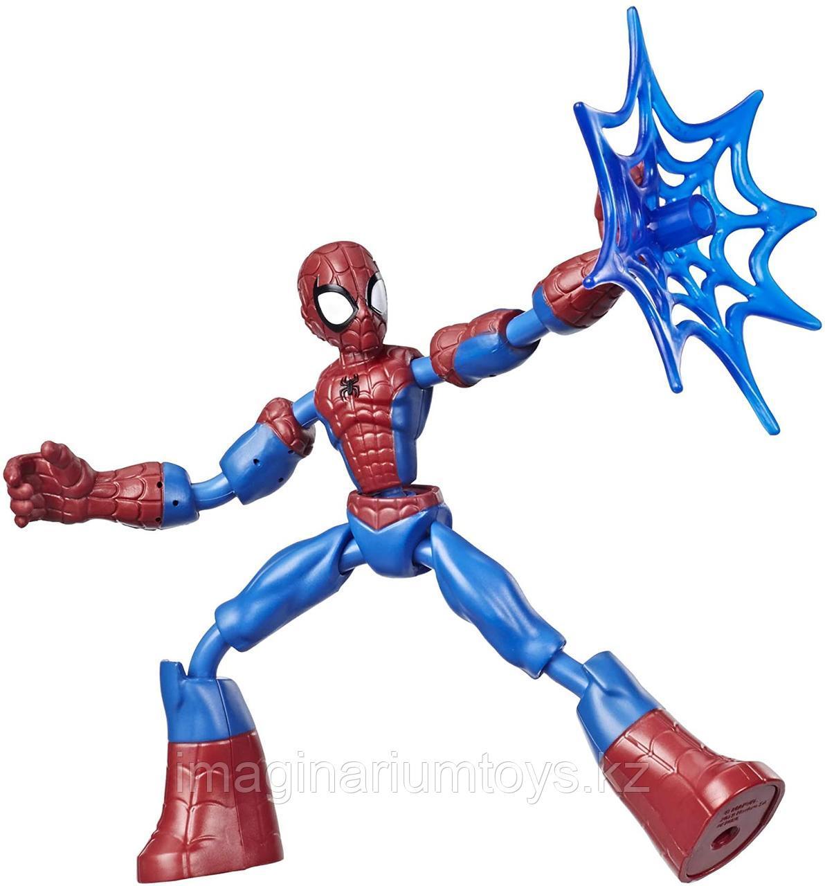 Человек-паук фигурка 15 см Bend&Flex Hasbro