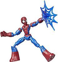 Человек-паук фигурка 15 см Bend&Flex Hasbro, фото 1