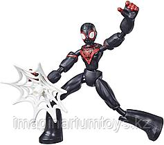 Спайдермен фигурка Майлз Моралес 15 см Bend&Flex Hasbro
