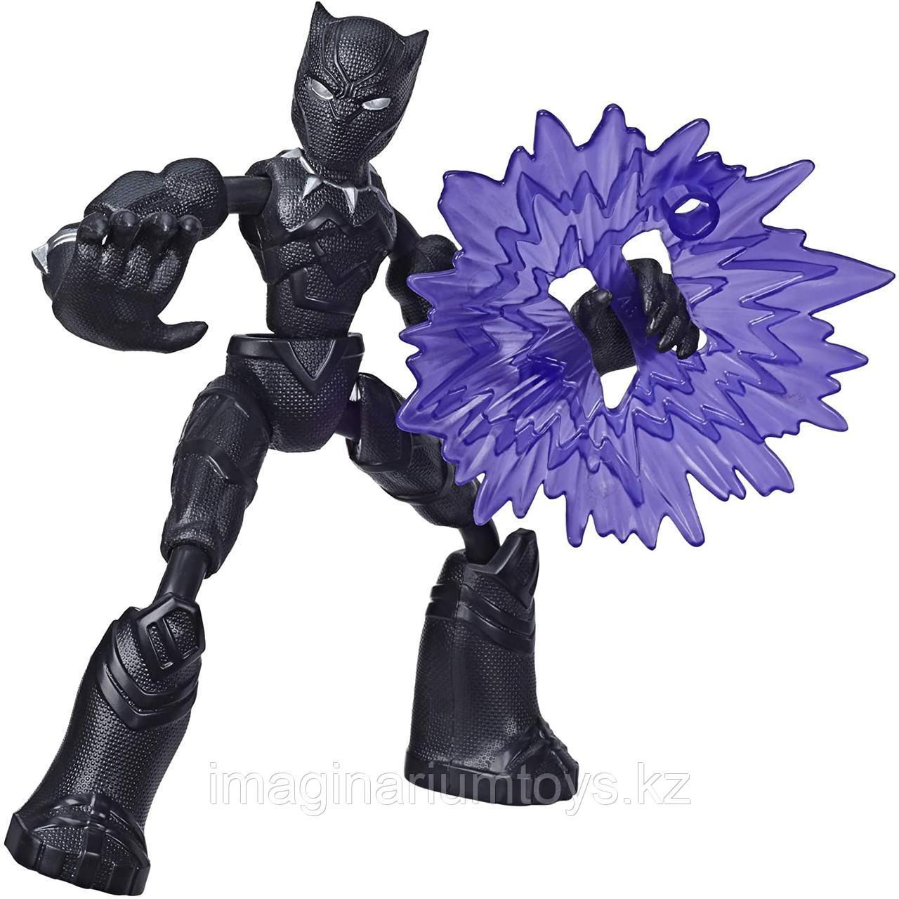 Черная пантера фигурка 15 см Bend&Flex Hasbro