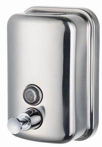 Санитайзер-дозатор для жидкого мыла настенный металлический BXG (1000 мл)