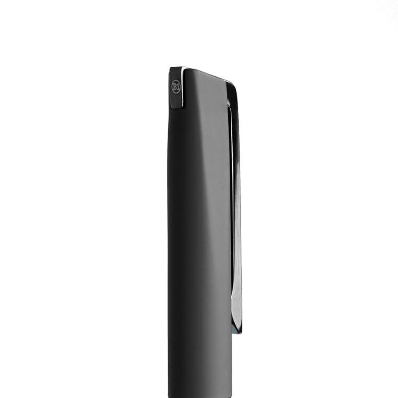 Ручка шариковая FRANCISCA, покрытие soft touch, Черный, -, 11061 35 - фото 2