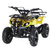 Квадроцикл детский бензиновый MOTAX ATV Х-16 Мини-Гризли, осенний камуфляж, электростартер и родительский
