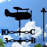 Флюгер 'Самолет-2',  50х34см