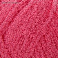 "Пряжа ""Softy"" 100% микрополиэстер 115м/50гр (33 ярко-розовый)"