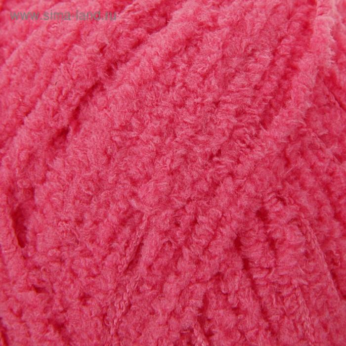"Пряжа ""Softy"" 100% микрополиэстер 115м/50гр (33 ярко-розовый) - фото 1"