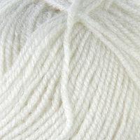 Пряжа 'Alpaca royal' 30 альпака, 15 шерсть, 55 акрил 250м/100гр (55 белый)