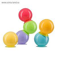 Набор ПВХ-игрушек Happy Baby IQ-Bubbles, 6 шт.