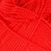 Пряжа 'Extra' 10 шерсть, 90 акрил 220м/100гр (56 красный)