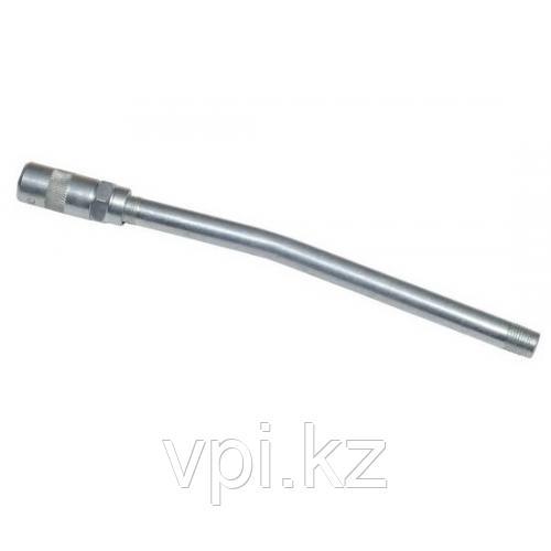 Трубка для шприца плунжерного, изогнутая, с наконечником, 200мм, АвтоДело