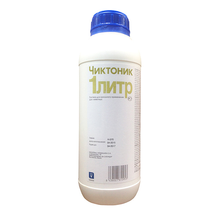 Чиктоник 1 литр (Сhiktonic)
